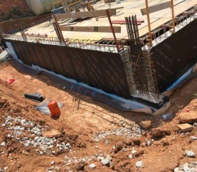 Impermeabilización muros en chalet de Sant Cugat del Valles